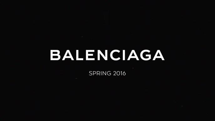 BALENCIAGA S/S 2016 - BALENCIAGA S/S 2016